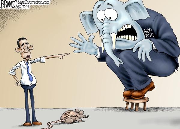 Government shutdown 2014