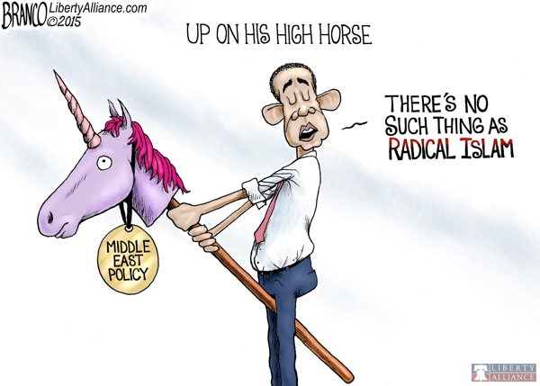 Obama High Horse
