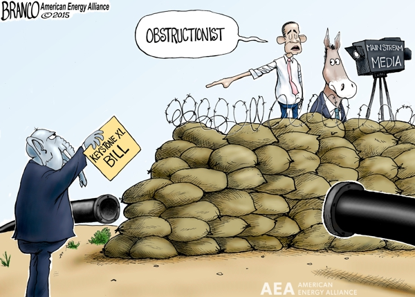 Obama Blocking Keystone