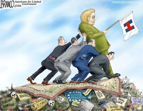 Clinton Media Bias