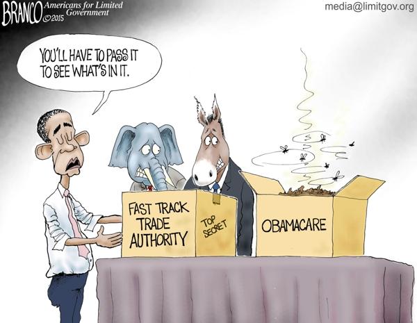 Fast Track Trade Bill