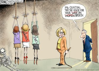 Friday Past Blast – Hillary's War On Women