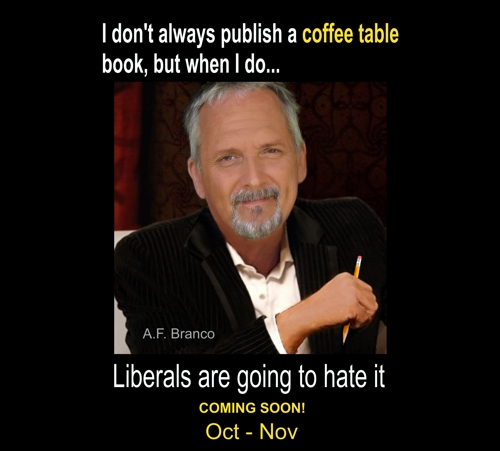 A.F. Branco Coffee Table Book