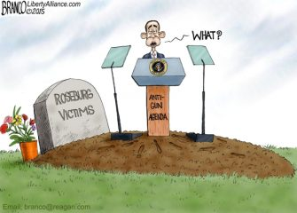 Political Grave-Standing