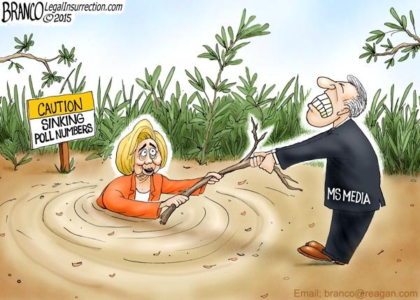 Hillary Sinking