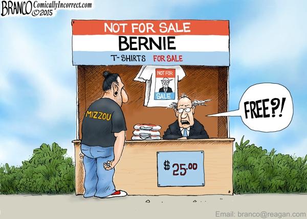 Bernie at Mizzou