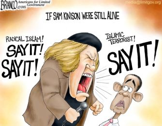 Radical Islam, SAY IT!