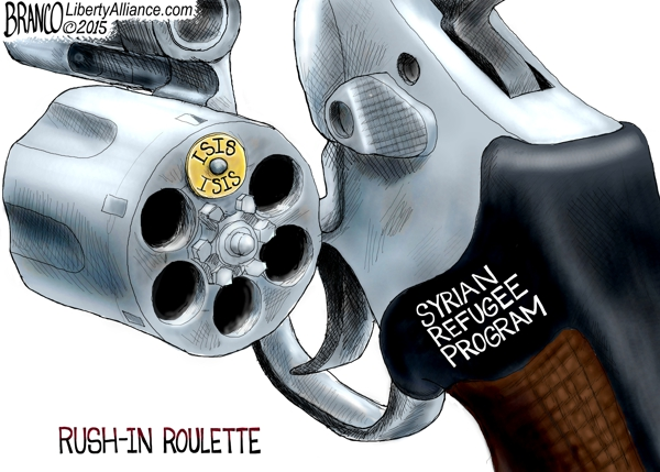 Syrian refugee Roulette