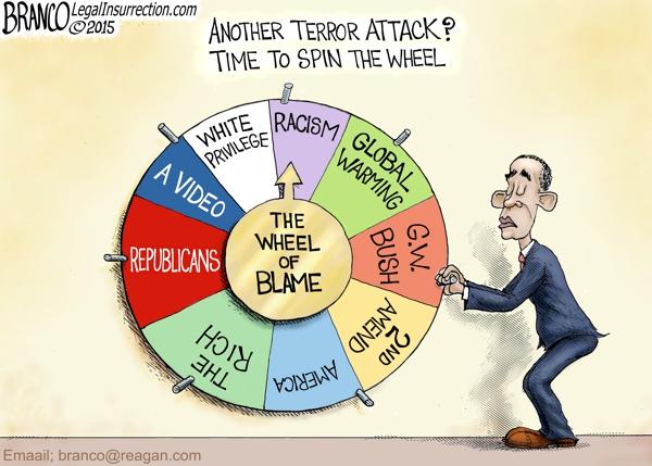 Terror Attack Blame
