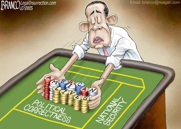 Obama Gambles Lives