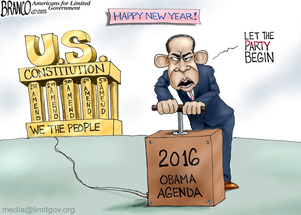 Obama 2016 Agenda