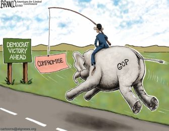 Past Blast Cartoon – GOP Compromise