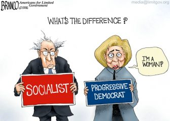 Socialist vs Democrat