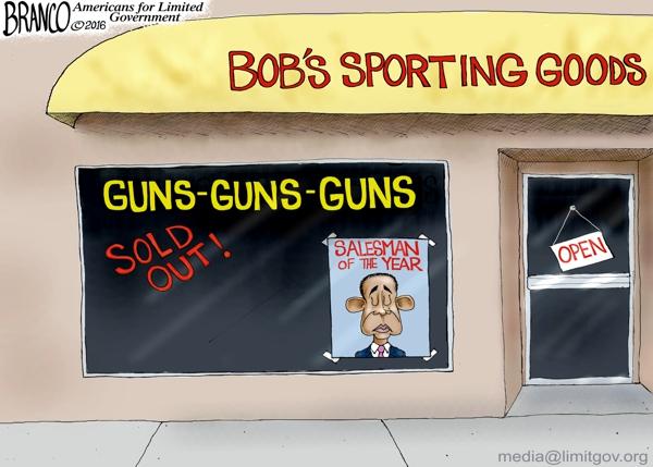 Gun Salesman