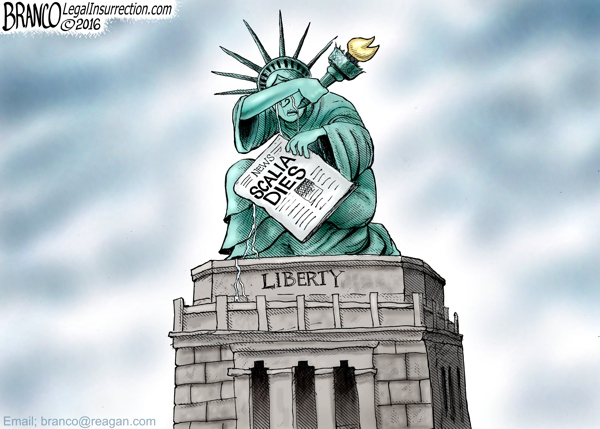 Scalia Dies