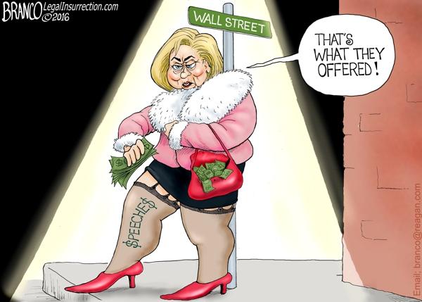 Hillary on Wall Street