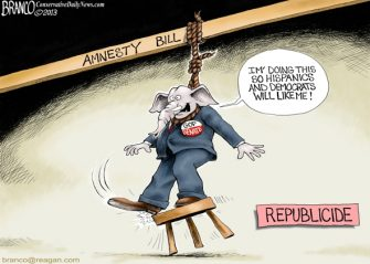 Branco Past Blast Cartoon – Republicide