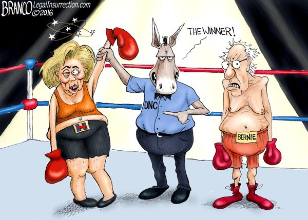 DNC Favors Hillary