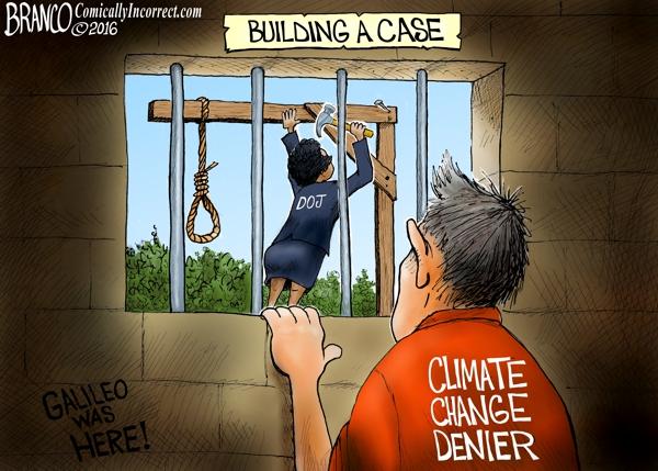 DOJ vs Climate Change Deniers