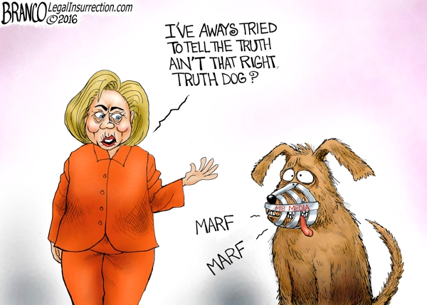 Clinton Truth  Dog