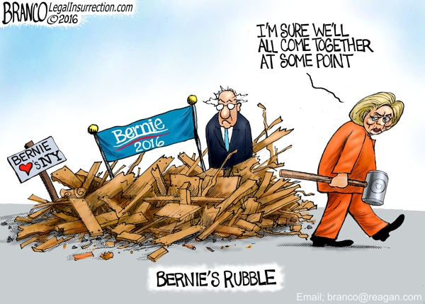 Hillary Crushes Bernie