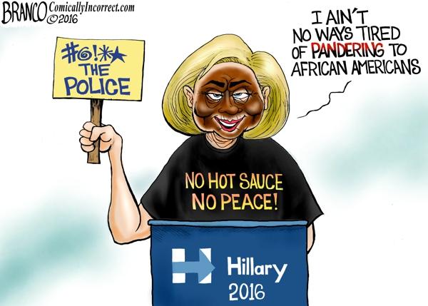 Hillary Pandering