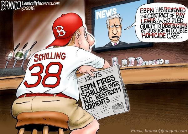 ESPN Fires Schilling