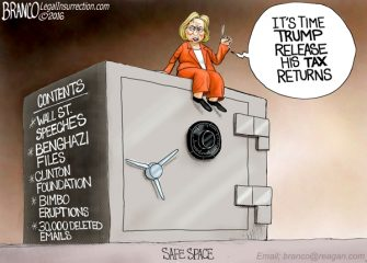 Hillary's Safe Space