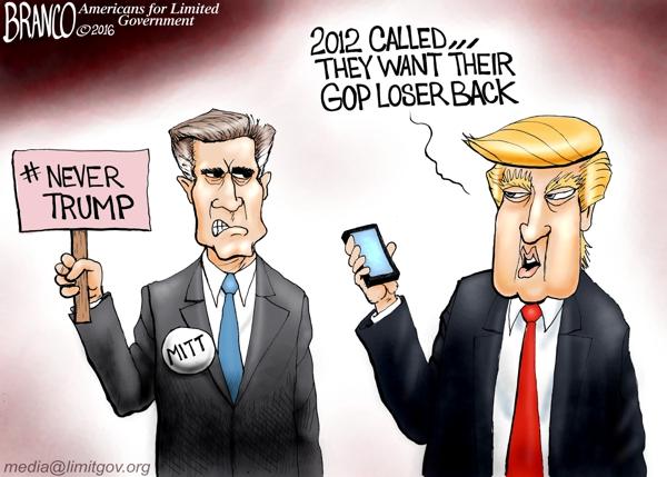 Romney Never Trump