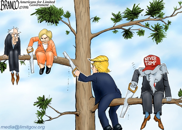 Never Trump Cartoon
