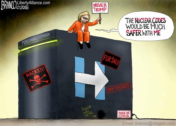 Hillary Nuclear Codes