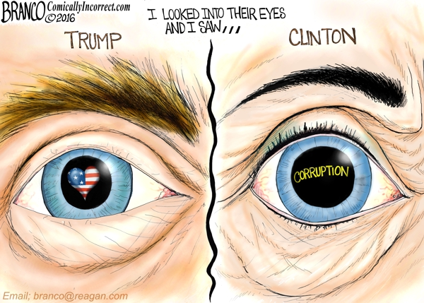 Trump and Hillary Inside