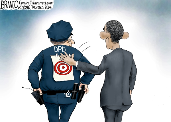 Obama Anti-Cop Rhetoric