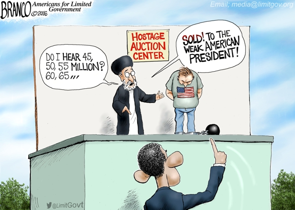 Obama Hostage Ransom