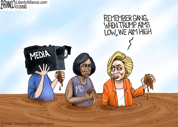 Hillary Aims High