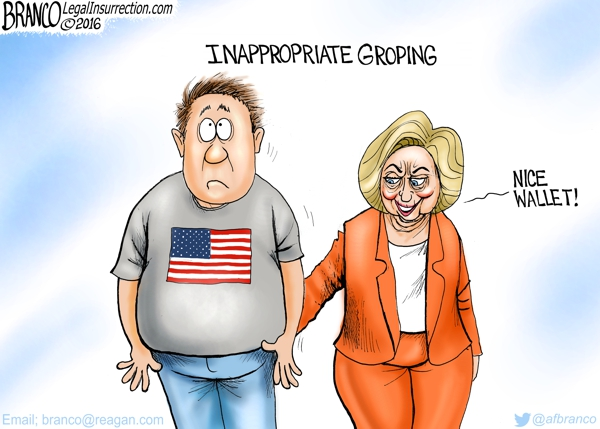 Inappropriate Groping
