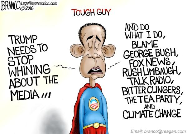Trump Obama Whining