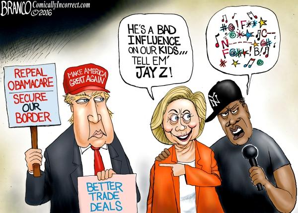 Jay Z Hillary Profanity