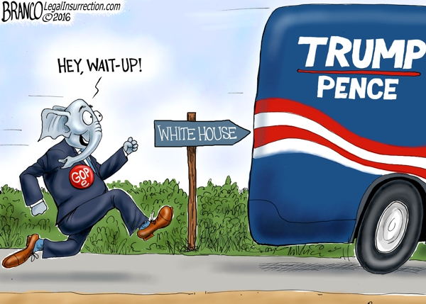 GOPe Chases Trump