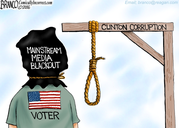 Hillary Scandal Blackout