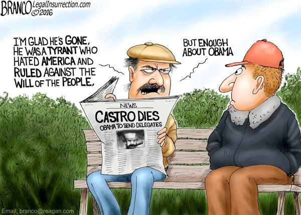 Castro Obama Gone