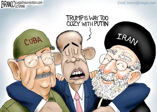Cozy with Putin