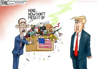 Presidential Trash-sition