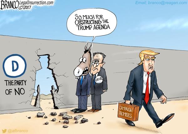 Obstructing Trump