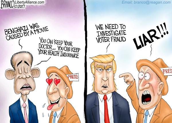 Obama vs Trump Lying