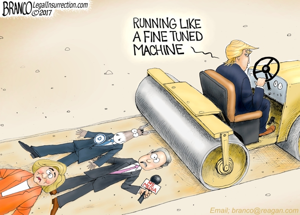 Trump Fine Tuned Machine
