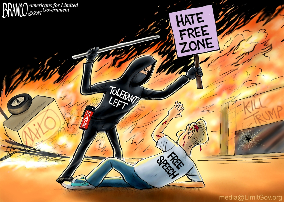 UC Berkeley Riot