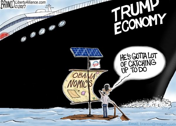 Trump vs Obama Economy