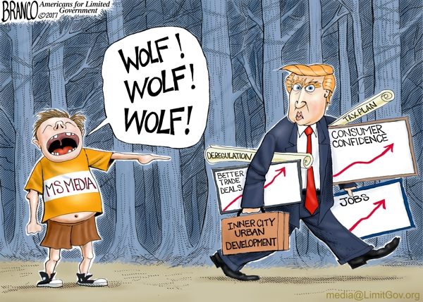 Media Cries Wolf