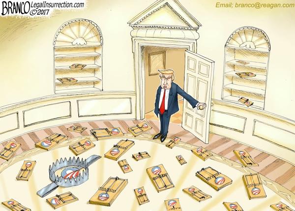 Obama Trump Traps